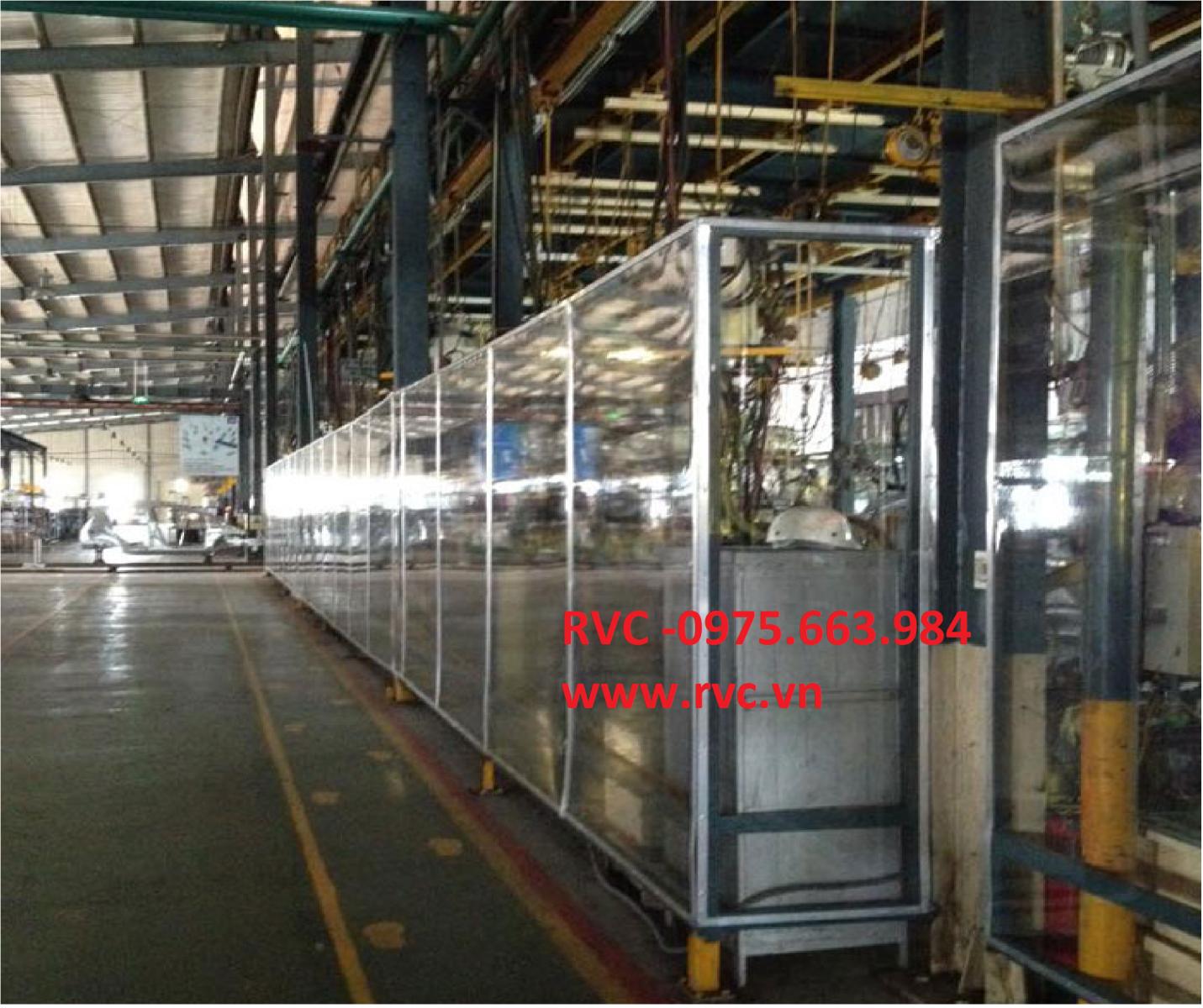 Ứng Dụng Của Màng Nhựa PVC Dẻo Trong Thiết Kế Và Xây Dựng Nhà Xưởng